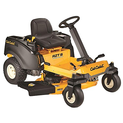 RZT S 42 in. 22 HP V-Twin Kohler Dual Hydrostatic Zero-Turn Riding Mower with Steering Wheel Control