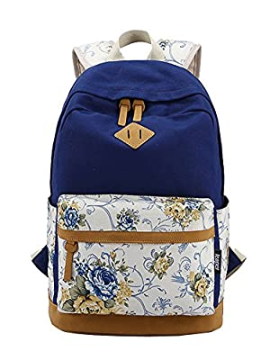 Fashion Plaza EXTRA big! Ladies Vintage Canvas Backpack Retro Vintage backpack for outdoor camping picnic Außflug Sports University backpack schoolbag C5095 from Fashion Plaza