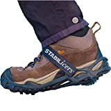 Stabilicers Lite Duty Serious Traction Cleat,Medium,Black w/ Support Strap