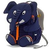 Affenzahn Kinderrucksack Kindergartentasche für Jungen und Mädchen im Kindergarten Großer Freund Elias Elefant