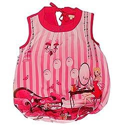 Leo n Babes Girls' Top (40002 D.Pink J_Pink_10 - 11 Years)