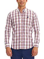 Galvanni Camisa Hombre Pocket (Amarillo / Rojo / Azul)