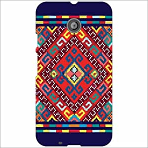 Moto E (2nd Gen) 4G Back Cover - Creations Designer Cases