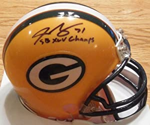 Josh Sitton Green Bay Packers Signed Autographed Mini Helmet Authentic Certified Coa by Riddell