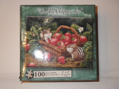"""Chubby Chipmunk"" 100 Piece Puzzle"