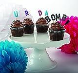 Party Partners Design Candid Candles: U R Da Bomb, Multicolored