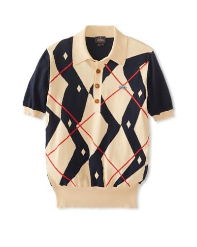 Vivienne Westwood Men's Argyle Polo Shirt