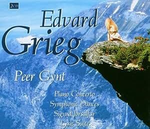 Grieg : Peer Gynt - Concerto pour piano - Danses Symphoniques - Suite Lyrique