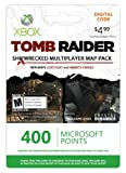 Xbox LIVE 400 Microsoft Points for Tomb Raider Shipwrecked DLC [Online Game Code]