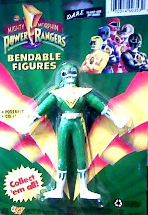 "6"" Tom Oliver (Clone) Green Ranger Bendable Figure - Saban's Mighty Morphin Power Rangers - 1"