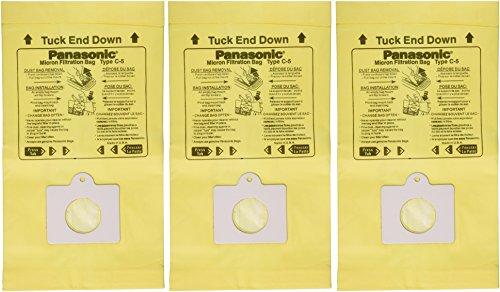 PANASONIC MC-V150M 3-Pack of Vacuum Bags (Panasonic Vacuum Bags compare prices)
