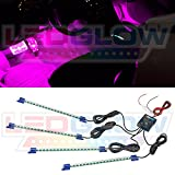 4pc. Pink LED Interior Underdash Lighting Kit thumbnail