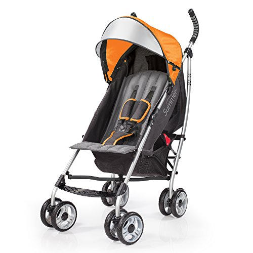 Best Deals! Summer Infant 2015 3D Lite Convenience Stroller, Tangerine