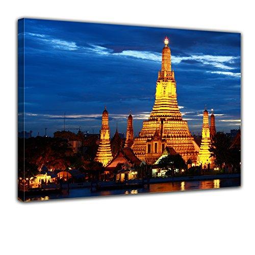 bilderdepot24-cuadros-en-lienzo-wat-arun-bangkok-50x40cm-enmarcado-listo-bastidor-imagen-directament