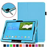 Fintie Samsung Galaxy Note Pro 12.2 Folio Case - Slim Fit Leather Cover for NotePro 12.2-inch Tablet SM-P900 with Auto Sleep/Wake Feature (Samsung Galaxy Note Pro 12.2, Blue)