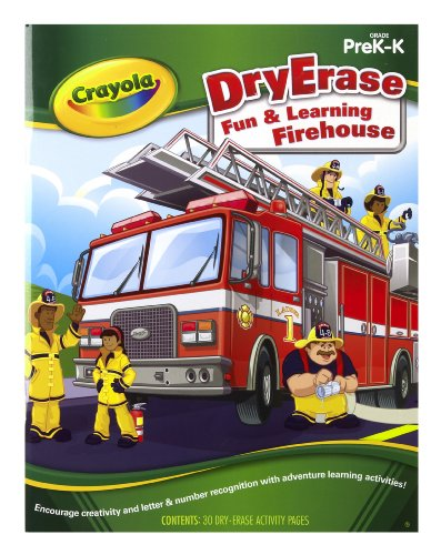 Crayola Dry Erase Learning Activity Workbook Fun And Learning Firehouse