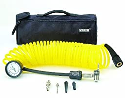 Viair 00025 5 In 1 Deflator/Inflator with 25\' Extension Coil Hose