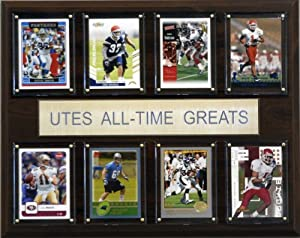 Buy NCAA Football Utah Utes All-Time Greats Plaque by C&I Collectables