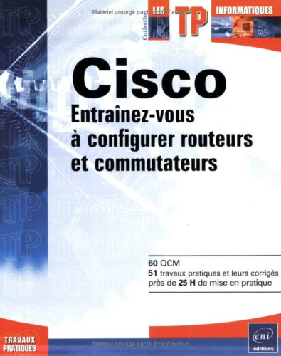 Cisco-Configurer routeurs commu.