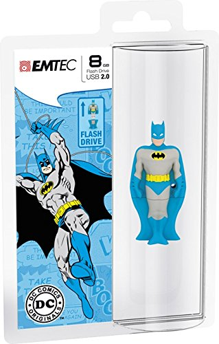 Emtec Super Heroes Batman SH102 Memoria 8 GB, USB 2.0