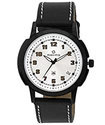 Maxima Attivo Analog Silver Dial Mens Watch - 22572LMGB