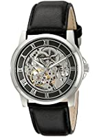Kenneth Cole New York Men's KC1514 Automatic Gunmetal Dial Leather Strap Watch