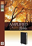 Amplified Cross Reference Bible Bonded Leather Black