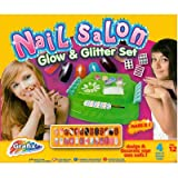 Grafix girls nail station nail salon glow & glitter