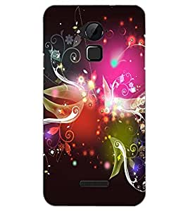 PrintDhaba NEW ERA ART D-6709 Back Case Cover for COOLPAD NOTE 3 LITE (Multi-Coloured)