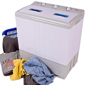 Tectake mini machine a laver essorer jusqu 39 4 kg - Mini machine a laver essoreuse ...