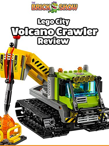 Review: Lego City Volcano Crawler Review on Amazon Prime Video UK