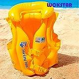 LUCKSTAR® Floating Life Jacket, Swimming Aid Inflatable Floating Life Jacket Vest Inflatable Swim Vest For Children...