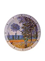 Artopweb Reloj De Pared Monet Felder In Fruehling