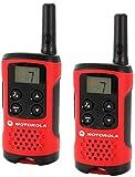 Motorola-TLKR-T40-PMR-Funkgert-mit-LC-Display-rot