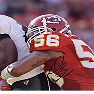 Derrick Johnson Autographed Signed 8x10 Photo - Kansas City Chiefs by Hollywood Collectibles