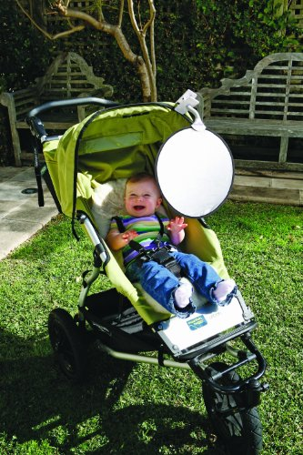Dreambaby Clip On Sun Shade w/UV Inducator