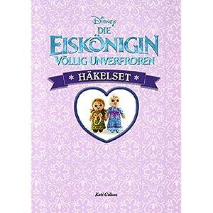 Disney Die Eiskönigin: Häkelset: Häkelbuch mit allen passenden Materialien für Elsa un