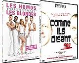 echange, troc Pack Théatre : Les homos préfèrent les blondes + Comme ils disent