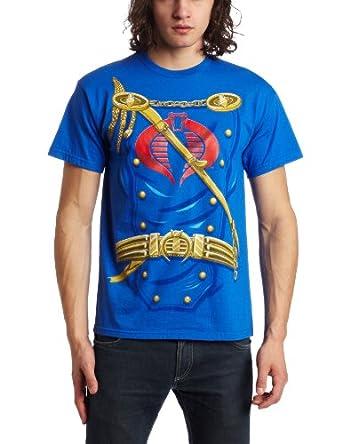 Mad Engine Men's Suit Up Costume T-Shirt, Royal Blue, Medium