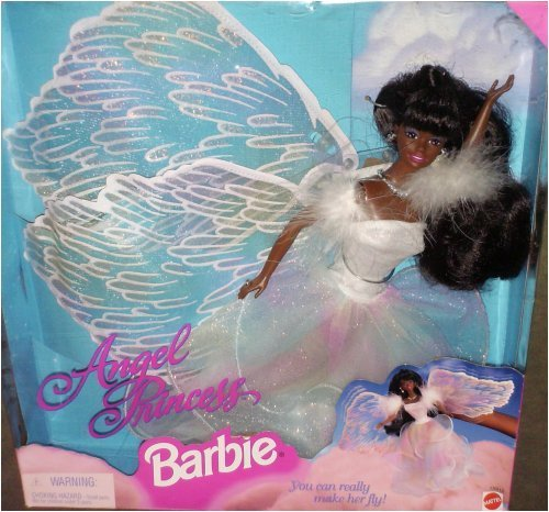 African American Angel Barbie Prinzessin