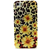 (Surprised) Iphone 5s Case, Iphone 5&5s Case Fashion Style Colorful Painted Green Totem Flowers Pattern Full Protective Unique Case Light Elastic Slim Durable Soft TPU Cases Cover for Iphone 5 5s Scratch-Resistant Slim Clear Back Case with Bumper / Cover for iPhone 5 / 5S (THREE MONTH WARRANTY) / iPhone 5 Case (Gift for Screen Protector Film and Clean Cloth) (5S TPU Z 5)