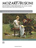 Duettino concertante: After Mozart for Two Pianos (Alfred Masterwork Edition) (0739090569) by Busoni, Ferruccio