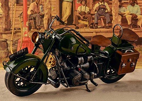 1962 Iron Davidson Motorcycle Model
