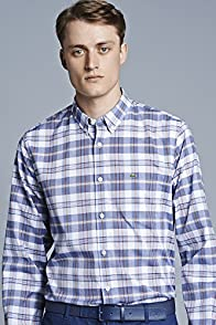 L/s Button Down Indigo Plaid Woven Shirt