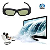 New Super Universal 3D Active Shutter Glasses IR&Bluetooth For Panasonic/Sony/Sharp/Samsung/LG/Toshiba 3DTV