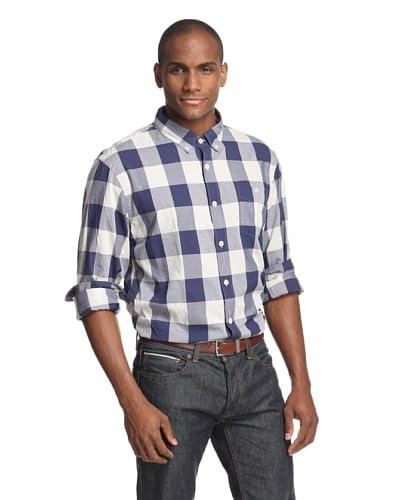 Todd Snyder Men's Large Gingham Shirt