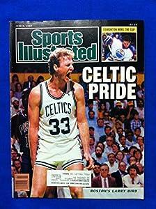 1987 Sports Illustrated June 8 Larry Bird (Celtic Pride) Boston Celtics Near-Mint