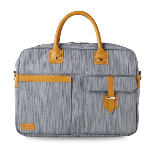 cheero Laptop PC Bag CLASSY (14 inch, Grey)