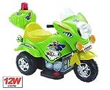 Elektro Auto Polizei Motorrad Scooter Kinderfahrzeug Elektromotorrad Blau Picture