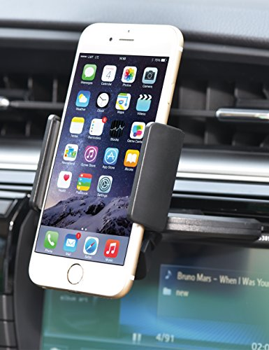 Bestrix Universal CD Slot Smartphone Car Mount Holder for iPhone 6, 6S Plus 5S, 5C, 5, 4S, 4, Samsung Galaxy S2 S3 S4 S5 S6 S7 Edge/Plus Note 2 3 4 5 LG G2 G3 G4 G5 all smartphones up to 5.7